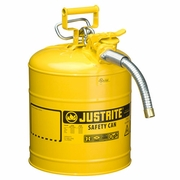 Justrite 5 Gallon Type 2 Yellow Safety Diesel Can