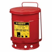 Justrite 6 Gallon Oily Waste Can