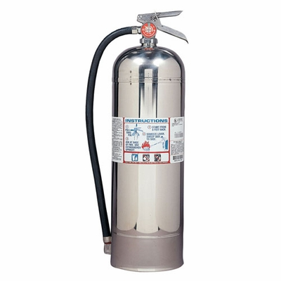Kidde Pro Line Water Fire Extinguisher - 2.5 lbs w/ Wall Hook