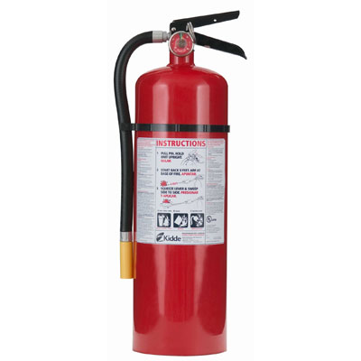 Kidde Pro Line ABC Fire Extinguisher - 20 lbs w/ Wall Hook
