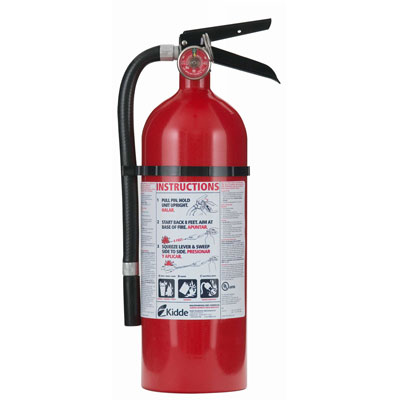 Kidde Pro Line ABC Fire Extinguisher - 5 lbs w/ Wall Hook