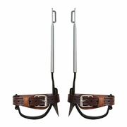 Klein Claw Pole Climbing Spurs & Ankle Straps - #2214ARS