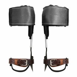 Klein Claw Pole Climbing Spurs & Velcro Pads
