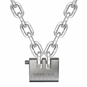 "Laclede 3/8"" ""Lockdown"" Security Chain Kit - 6 ft Chain & Padlock"