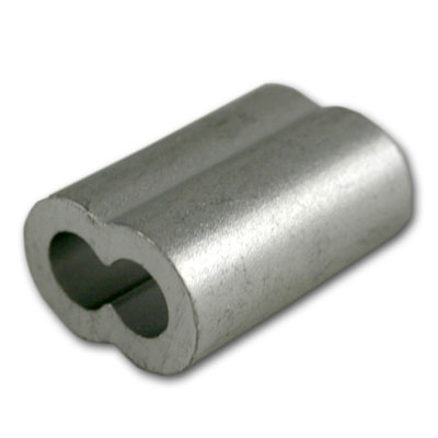 1 2 Quot Aluminum Oval Swage Sleeve