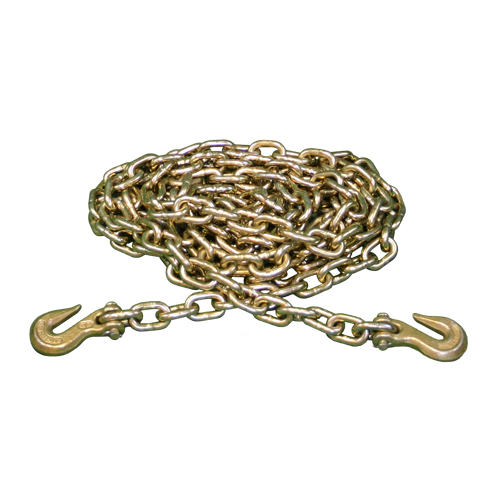"3/8"" x 20 ft Grade 70 Tie Down Chain - 6600 lbs WLL"