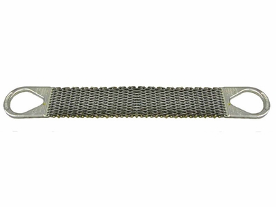 """Lift-All 10"""" x 3 ft Type 2 Roughneck Wire Mesh Sling - 12 Gage - 8000 lbs WLL"""