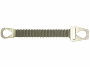 """Lift-All 12"""" x 4 ft Type 1 Roughneck Wire Mesh Sling - 10 Gage - 14400 lbs WLL"""
