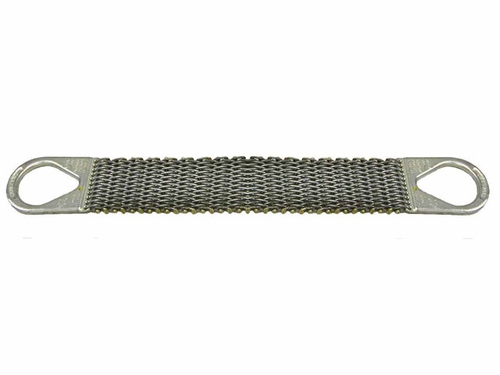 """Lift-All 3"""" x 4 ft Type 2 Roughneck Wire Mesh Sling - 12 Gage - 2400 lbs WLL"""