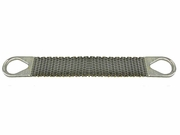 """Lift-All 4"""" x 10 ft Type 2 Roughneck Wire Mesh Sling - 12 Gage - 3200 lbs WLL"""