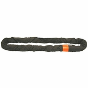 Lift-All Black 8 ft Endless Tuflex Round Sling - 90000 lbs WLL