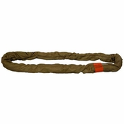 Lift-All Brown 16 ft Endless Tuflex Round Sling - 53000 lbs WLL