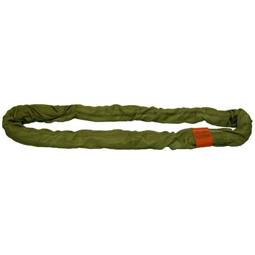 Lift-All Olive 25 ft Endless Tuflex Round Sling - 66000 lbs WLL