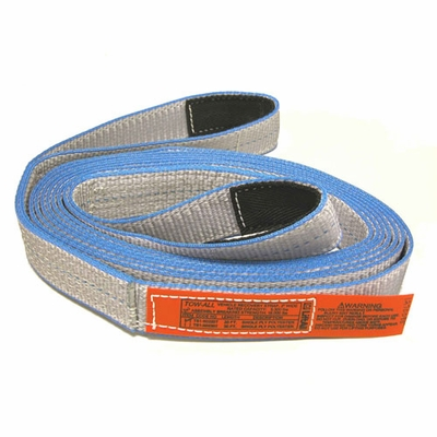 "Lift-All 2 Ply 2"" x 20 ft Tow-All Tuff-Edge II Recovery Strap - 10700 lbs WLL"