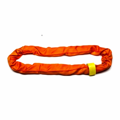 Liftex Orange 8 ft Endless RoundUp Round Sling - 53000 lbs WLL