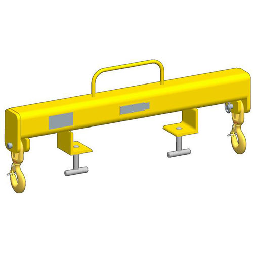M&W Forklift Beam - Outside Hooks - 14000 lbs WLL - #16523