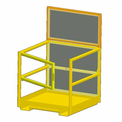 """M&W Forklift Personnel Basket - 75""""W x 44""""D - 600 lbs WLL"""