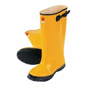 MCR Yellow PVC Slusher Boots - 17""