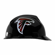 MSA V-Gard Cap Style NFL Team Hard Hat - Atlanta Falcons