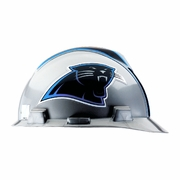 MSA V-Gard Cap Style NFL Team Hard Hat - Carolina Panthers