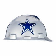MSA V-Gard Cap Style NFL Team Hard Hat - Dallas Cowboys