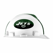 MSA V-Gard Cap Style NFL Team Hard Hat - New York Jets