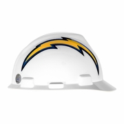MSA V-Gard Cap Style NFL Team Hard Hat - San Diego Chargers