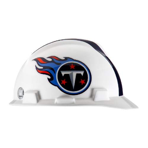 MSA V-Gard Cap Style NFL Team Hard Hat - Tennessee Titans - #818413
