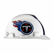 MSA V-Gard Cap Style NFL Team Hard Hat - Tennessee Titans