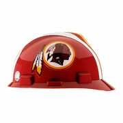 MSA V-Gard Cap Style NFL Team Hard Hat - Washington Redskins