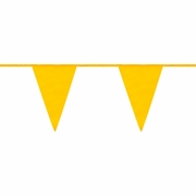 Mutual Yellow OSHA Spec Pennant Flags - 105 ft Roll