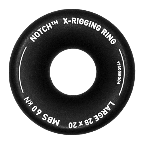 Notch Large X-Rigging Ring - 28mm x 20mm - #35790