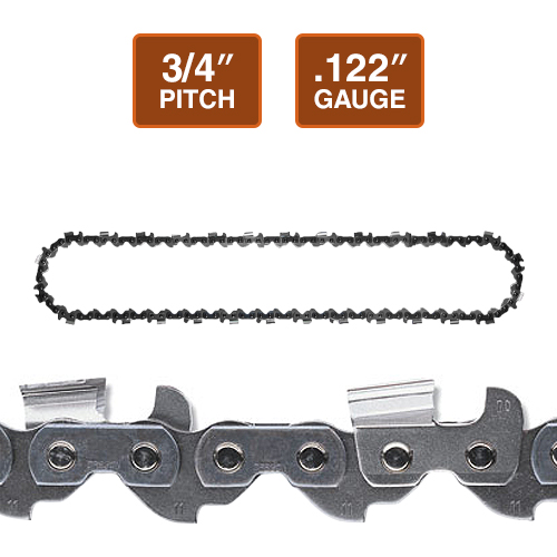 "Oregon 11H Harvester Chain Loop | 3/4"" Pitch 