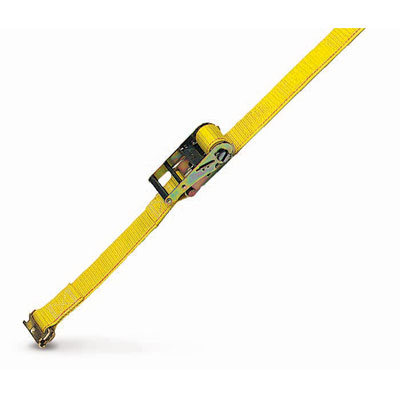 "PCC 2"" x 12 ft Ratchet Strap - Spring E Fittings - 1000 lbs WLL"