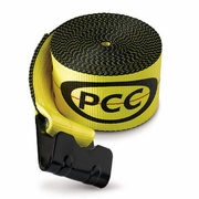 "PCC 4"" x 30 ft Winch Strap - Flat Hook - 5500 lbs WLL"