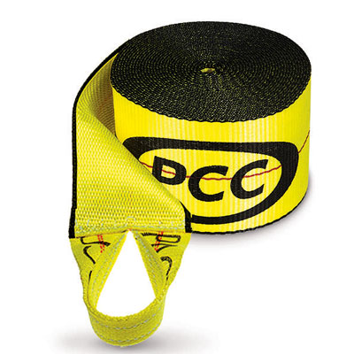 "PCC 4"" x 30 ft Winch Strap - Sewn Loop - 5000 lbs WLL"