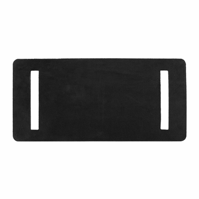 """PCC Rubber Slotted Wear Pad - 6"""" x 12"""""""