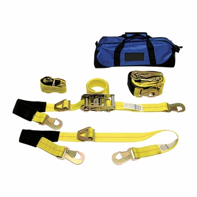 Peerless Auto Tie-Down Kit w/ Carry Bag - 3300 lbs WLL