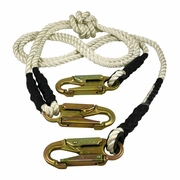 "Pelican 10 ft Two-in-One Adjustable Lanyard - 1/2"" Rope"