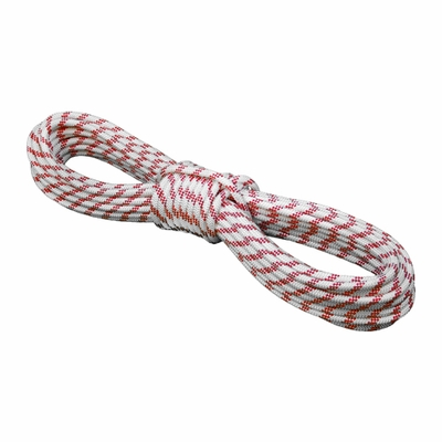 "Pelican 3/8"" x 120 ft White Static Master Kernmantle Rappelling Rope - 5897 lbs Breaking Strength"