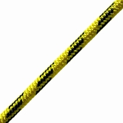 "Pelican 7/16"" Yellow & Black Arborist Rope - 7000 lbs Breaking Strength"