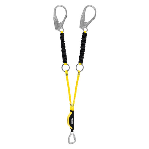 Petzl Absorbica-Y Tie-Back Lanyard - 4.92 ft (150 cm) - #L64YUT 150