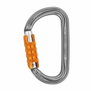 Petzl Am'D Aluminum Carabiner - Triple-Locking