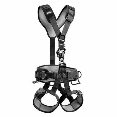 Petzl Avao Croll Fast Black Work / Rescue Harness - Size 0