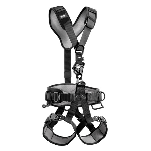 Petzl Avao Croll Fast Black Work / Rescue Harness - Size 0 - #C71CFN