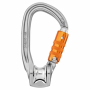 Petzl Rollclip Z Pulley Carabiner - Triple-Locking