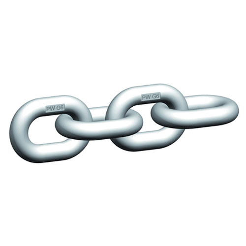 """Pewag WOX5 3/16"""" Grade 63 Stainless Steel Chain - 1400 lbs WLL - #42273"""