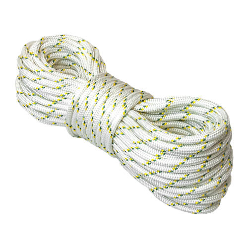 """Portable Winch 1/2"""" Double Braid Polyester Rope - 7275 lbs Breaking Strength - #PCA-1215M"""