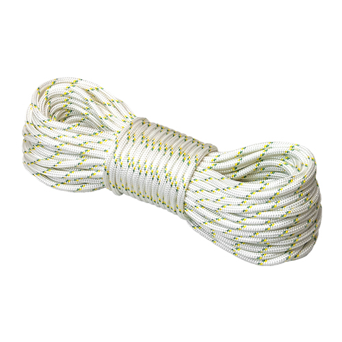 """Portable Winch 3/8"""" Double Braid Polyester Rope - 4850 lbs Breaking Strength - #PCA-1205M"""