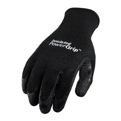 Red Steer Gloves : Red steer powergrip palm dipped insulated glove